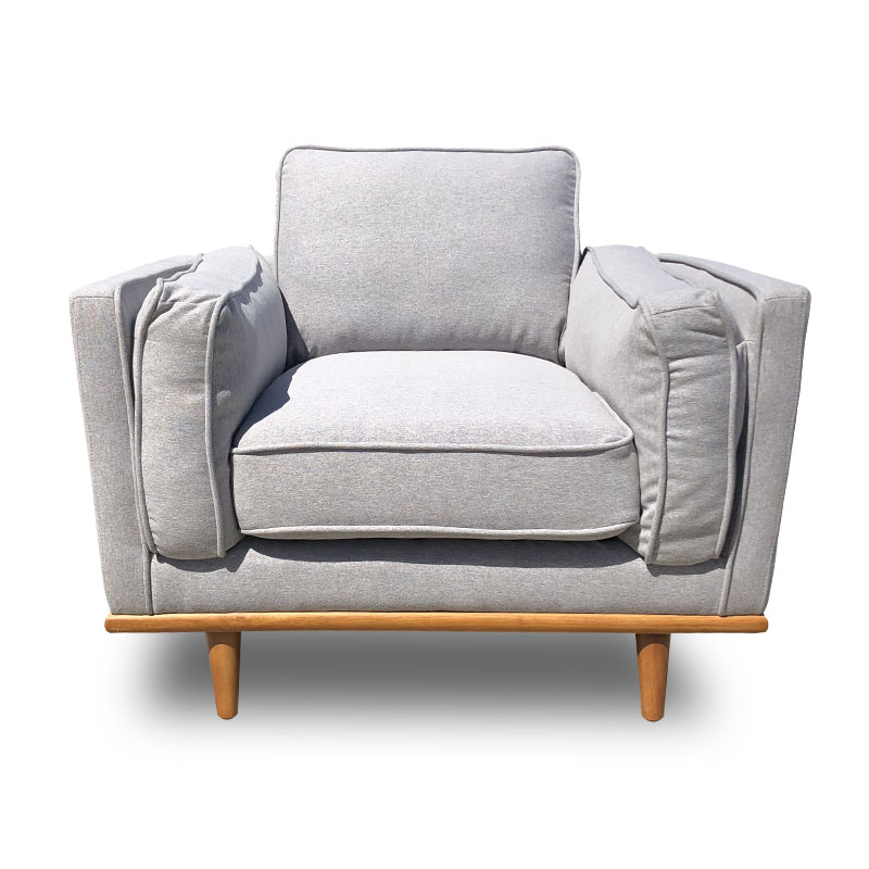 DAHLIA FABRIC ONE SEATER SOFA