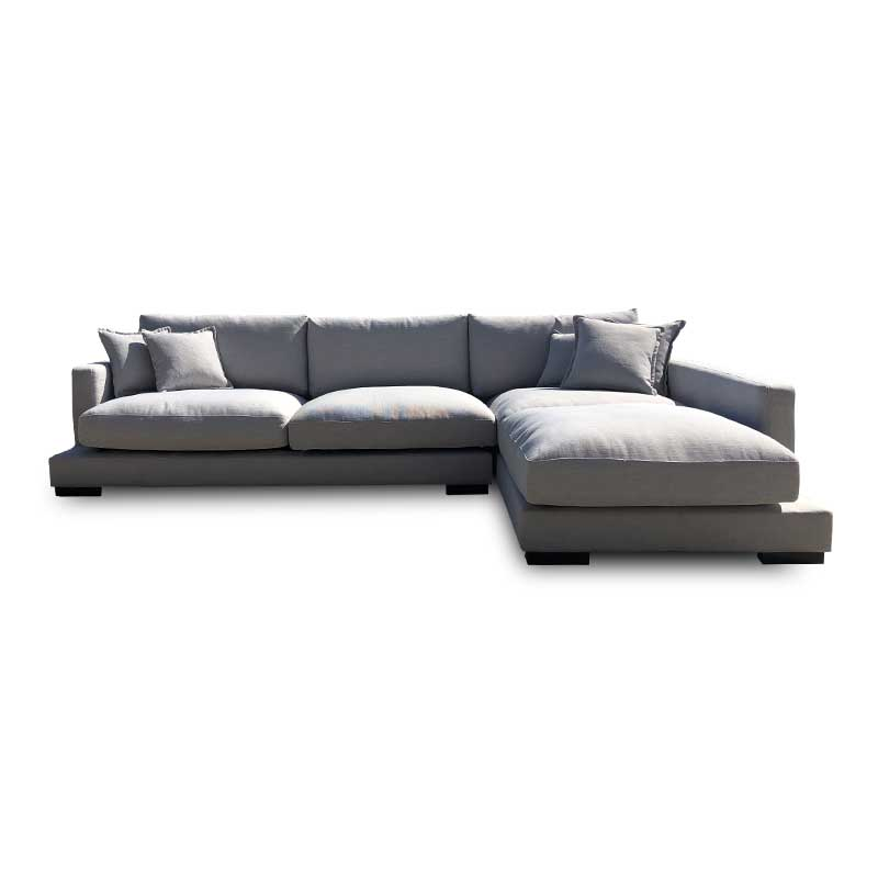 HAMILTON FABRIC THREE SEATER MODULAR - RIGHT HAND SIDE FACING