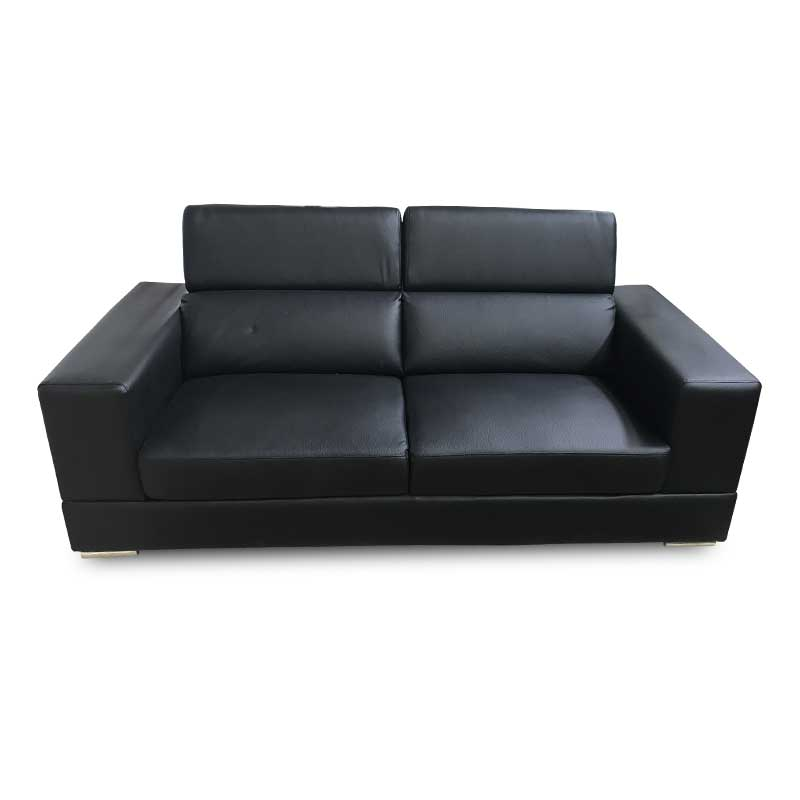 MIAMI LEATHER TWO SEATER SOFA