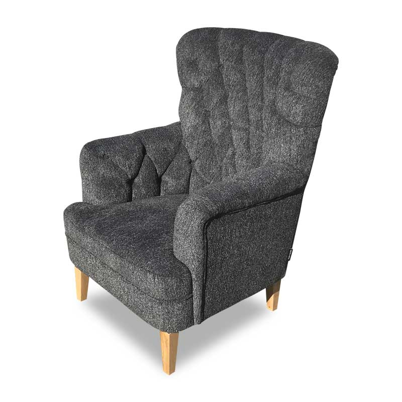 ADRIAN CHAIR ZEPEL FABRIC
