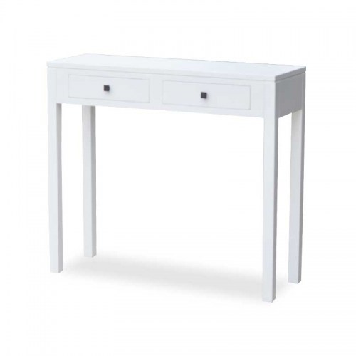 90CM LALA WHITE CONSOLE Furniture Perth WA