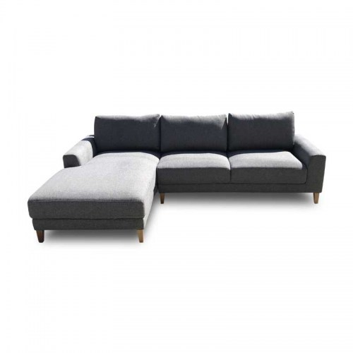 CHICAGO FABRIC THREE SEATER MODULAR