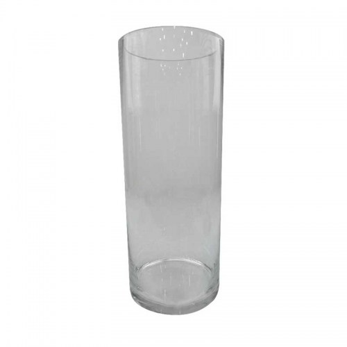 CLEAR GLASS FLOWER VASE - LARGE Homewares Stores Perth WA