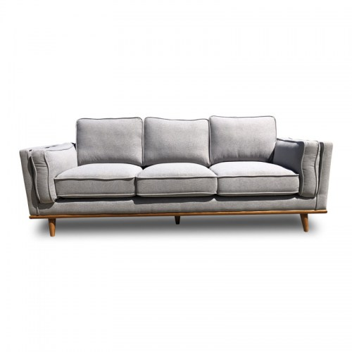 DAHLIA FABRIC THREE SEATER SOFA