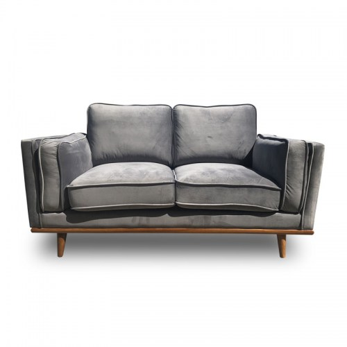 DAHLIA VELVET TWO SEATER SOFA