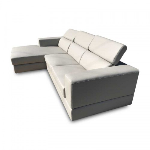 MIAMI LEATHER THREE SEATER MODULAR