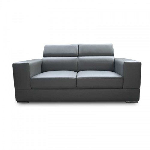 MIAMI LEATHER THREE SEATER SOFA
