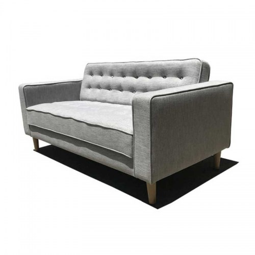 PAMELA FABRIC TWO SEATER SOFA