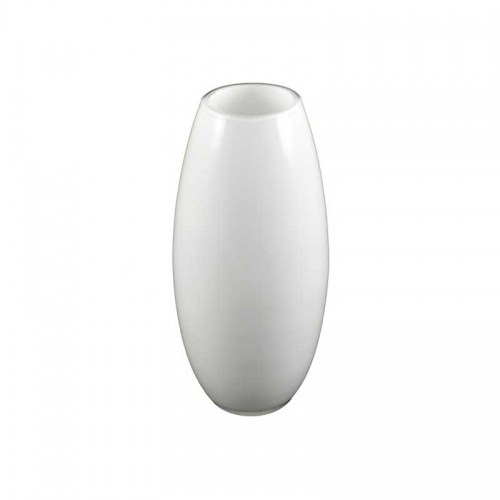 ROUND GLASS VASE WHITE - SMALL Homewares Stores Perth WA