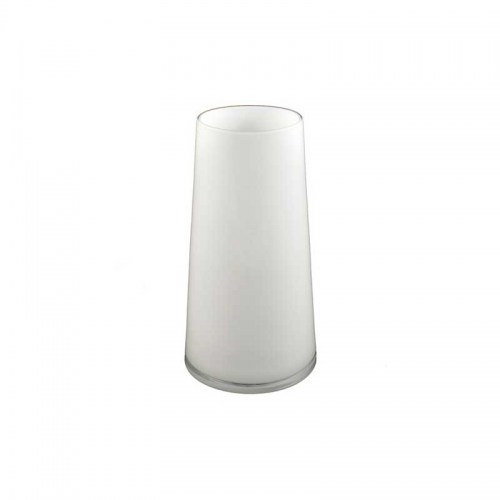 Round White Glass Taper Vase Small Homewares Perth Stores Sadler's Home