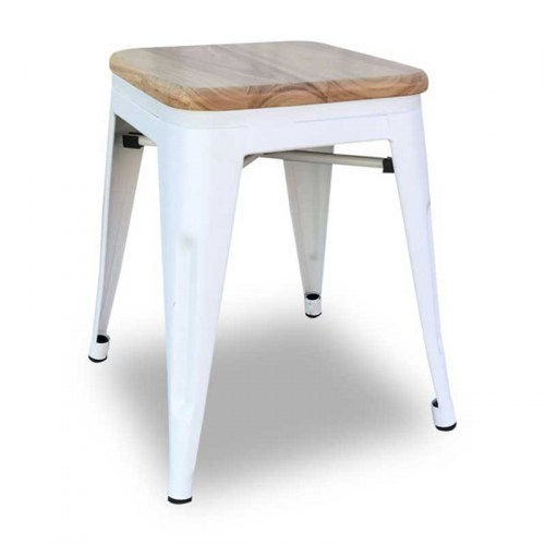Replica XAVIER PAUCHARD TOLIX SMALL STOOL WITH ASH SEAT