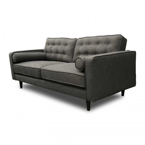 Sofas : COPENHAGEN FABRIC THREE SEATER