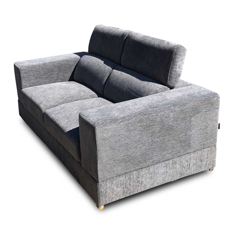 MIAMI FABRIC THREE SEATER SOFA